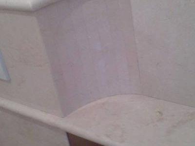 Marmurowa zabudowa w łazience
