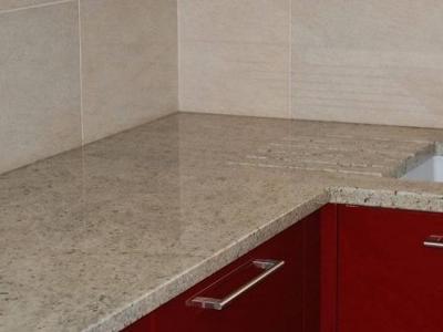 Przykład prostego blatu granitowego