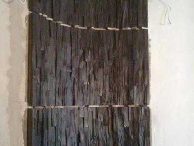 Ściana z łupka